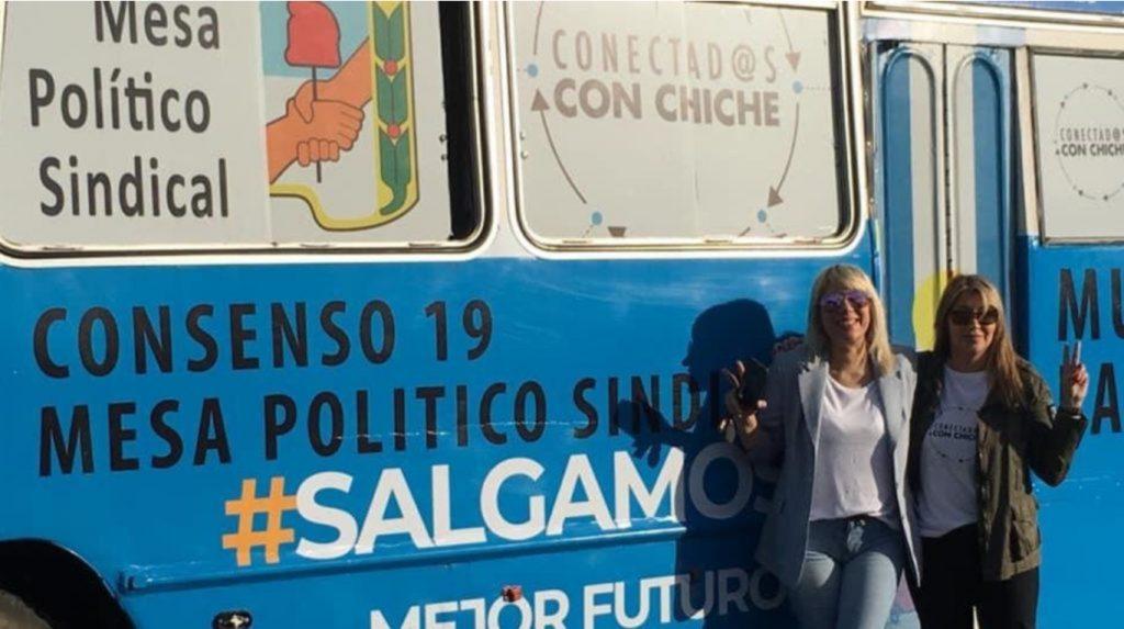 Leticia Senatore estuvo prófuga de la Justicia durante la campaña